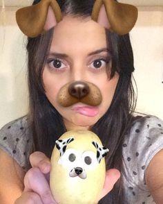 My snapchat friend is a patatoe