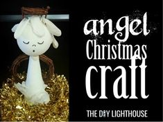 angel christmas craft | diy cheap crafts for Christmas Easy Diy Crafts, Diy Craft Projects, Fun Crafts, Craft Ideas, Christmas Angels, Christmas Crafts, Christmas Decorations, Christmas Ornaments, Do It Yourself Crafts