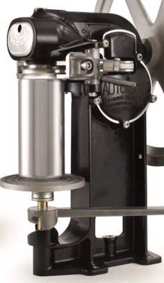 Seal your own 12 oz or 16 oz beer cans right at home with the All American Personal Beer Can Seamer Homebrew Canner. Fill them with homebrew or your favorite beverage, then set it onto the stage and give it a few cranks to perfectly seal.