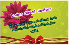 https://www.paydayloansnowdirect.co.uk/direct-lenders-direct-loan-lenders-all-the-lenders-uk.html loans direct lenders