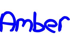 the name amber - Google Search