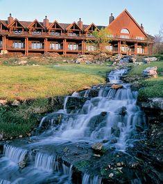Big Cedar Lodge located South of Branson, Missouri on Table Rock Lake.