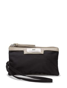 DAY - Day Gweneth Tone Purse The DAY Gweneth purse is the perfect place to organise your on-the-go essentials. The zipper closure will ensure that your makeup, phone, credit cards, or other small items are kept safely. DAY Tone is practical and is easy to carry by hand or to fit into a bigger purse.  Double compartments Inner lining Logo detail Perfect for makeup, or other necessities Top zip closure Elegant Sophisticated The Gweneth is a DAY staple piece that combines femininity and… Big Purses, Elegant Sophisticated, Staple Pieces, Femininity, Credit Cards, Other Accessories, Makeup Yourself, Perfect Place, Essentials