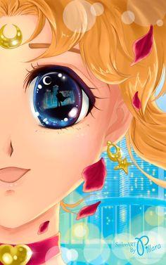 Sailor Moon dreams about Tuxedo Mask ❤️