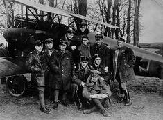 Exponat: Photo: Die Jagdstaffel von Richthofen, 1917