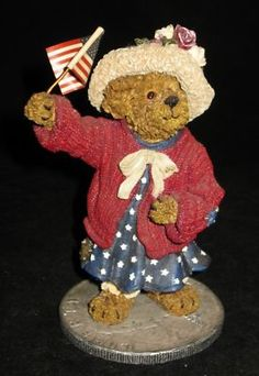 Eleanore Bearsevelt...God Bless America-is in my 4th of July display.