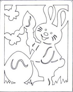 3-1 Bunny Crafts, Easter Crafts For Kids, Preschool Crafts, Kirigami Patterns, Easter Bunny Template, Bunny Templates, Birthday Chart Classroom, Decoupage, Stencils