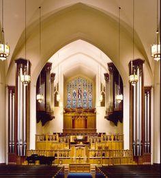 Casavant Frères pipe organ - Broadway Baptist Church, Fort Worth, TX
