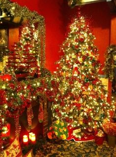 Find everything you need to decorate your house for the holidays at North Pole City in Oklahoma City.