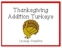 FREE - and cute craft - Thanksgiving Addition Turkeys