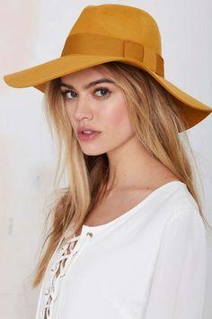 Brixton Piper Wool Hat - Mustard - Accessories | Hair + Hats | Accessories | All