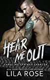 Hear Me Out (Hawks MC: Caroline Springs Charter Book 5) by Lila Rose (Author) Hot Tree Editing (Editor) #LGBT #Kindle US #NewRelease #Lesbian #Gay #Bisexual #Transgender #eBook #ad