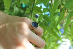 Black ring, bronze ring, black ring women, oval ring, chevalier black ring, chevalier ring, summer rings, personalised ring, boho chevalier by DimiCiar on Etsy Bronze Ring, Oval Rings, Personalized Rings, Black Rings, Art Market, Gemstone Rings, Boho, Trending Outfits, Unique Jewelry