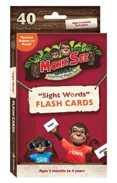 monkey flash cards