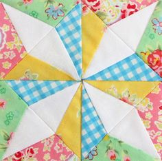 Don't know what it's called but I like it! | #quiltblock #quilt
