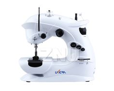 TOP Quality Built IN Light Portable Mini Sewing Machine W Reverse Foot Pedal   eBay