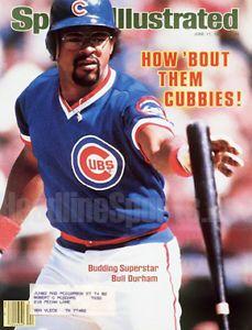 chicago cubs leon durham | Sports Mem, Cards & Fan Shop > Vintage Sports Memorabilia ...