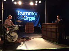 """Trummor & Orgel live at """"Blå"""". Oslo, Norway 19 may 2017."""
