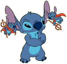 Stitch and little Devils.