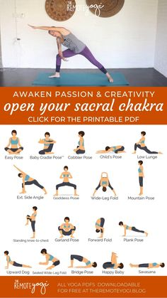 Yoga For You, How To Do Yoga, Yoga Fitness, Chakra Heilung, Formation Yoga, Beginner Yoga Workout, Chakra System, Relaxing Yoga, Yoga Moves
