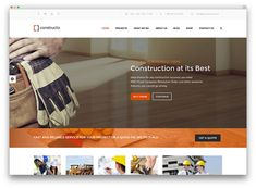 Let's take a look at some of the best Construction Company WordPress themes that are currently available on the market. Business Resume, Business Profile, Corporate Business, Wat Do, Construction Business, Responsive Layout, Building A Website, Company Profile, Wordpress Theme