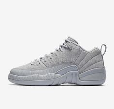 new arrival a2d10 b172d Air Jordan 12 Low Wolf Grey Jordan Swag, Jordan Retro 12, Jordan Shoes,