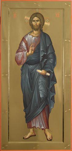 Părintele Ilie Bobăianu – icoana Byzantine Icons, Byzantine Art, Religious Icons, Religious Art, Holy Art, Christ Pantocrator, Paint Icon, Religion, Christian Artwork