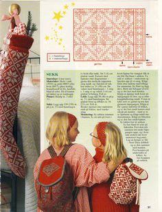Oppskrift på Selbustrømper og sekk (side 2) 10-12 år og dame Knit Patterns, Lily Pulitzer, Diva, Album, Knitting, Charts, Dresses, Google, Fashion