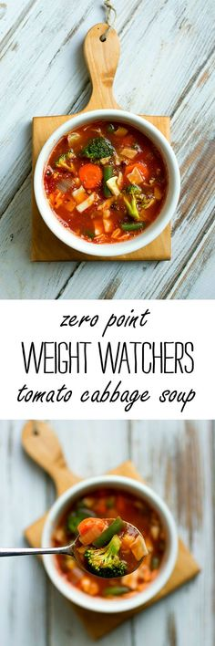 Zero Point Weight Watchers Soup