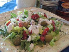 Walking on Sunshine: Easy Homemade Ranch Salad Dressing...