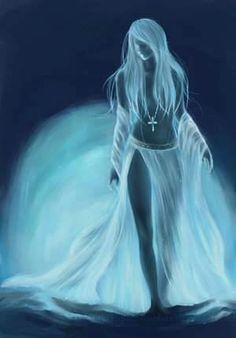 Spirit...#light #art #female #diaphanous #b/w