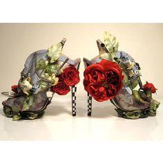 Alice in Wonderland Shoes by Nicolas Kirkwood