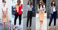 18 Work Outfits Every Working Woman Should Have -  Thanks to the Feminism movement, all the opportunities that life offers can now be seized by women, just like men have been able to seize th. Classy Dress, Classy Outfits, Chic Outfits, Classy Chic, Fashionable Outfits, Casual Summer Dresses, Stylish Dresses, Fashion Dresses, Summer Clothes