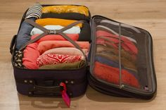 Pack Like A Pro (great practical tips for packing your suitcase). This is what I used for London packing.that was 8 days in my tiny carryon. Roll EVERYTHING. And put things inside shoes if they are going in your suitcase! Packing Tips, Travel Packing, Travel Tips, Suitcase Packing, College Packing, Vacation Packing, Smart Packing, Travel Abroad, Travel Destinations