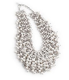 Anna & Ava Beaded Statement Necklace