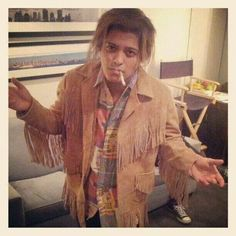 What is he wearing?! lol Bruno!