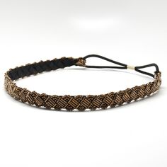 A little sparkle goes a long way with these beaded, elastic #headbands great for concerts, #festivals and every-day wear. Beautiful beads and Swarovski crystals intertwined to shimmer in any light. Available in four colors: black, multi-shimmer, bronze and rose-gold. Sparkle - Multi-Shimmer #Headband, #beauty #hair #hairstyles
