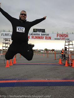 MichaelW Travels...: LGA 5K Runway Run Recap
