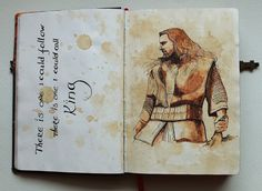 Beautiful artwork of one of my favorite moments in The Hobbit.    There is one... by Kinko-White.deviantart.com on @deviantART