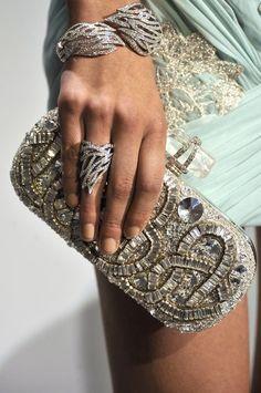 Jeweled clutch