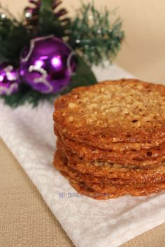 My Cooking Diary Sweet Cookies, Xmas Cookies, Florentine Cookies Recipe, Cheesecake Cookies, Coconut Cookies, Food Obsession, Time To Eat, Four, Sweet Recipes