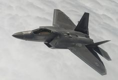 A Lockheed Martin F-22A Raptor from the 95th Fighter Squadron at Tyndall Air Force Base, Fla., flies over the Nevada Test and Training Range during Red Flag 15-3 at Nellis AFB, Nev., July 31, 2015. Red Flag gives aircrews and air support operations service members from various airframes, military services and allied countries an opportunity to integrate and practice combat operations.