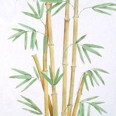 Wall Mural Stencils Bamboo Trompe L'oeil Stencils | Royal Design Studio