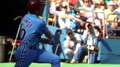 27th anniversary of Mike Schmidt's 500th career home run. Great  call by Harry Kalas and Richie Ashburn.