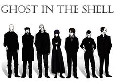 Ghost in the shell public security section 9 Ghost in the shell Character Concept, Character Design, Anime Ghost, Masamune Shirow, Motoko Kusanagi, Anime Tattoos, Ghost In The Shell, Shadowrun, Cultura Pop