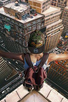 Roof by Emanuele Serraino actually gives me vertigo...