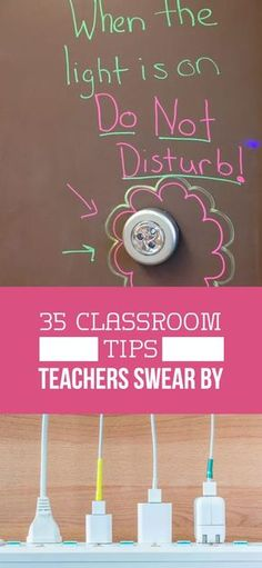 35 Smart Classroom Ideas From Real-Life Teachers : 35 Classroom management tips teachers swear by! Ideas for elementary, middle, and high school classrooms. Classroom Management Tips, Classroom Hacks, Classroom Layout, Middle School Classroom, Math Classroom, Future Classroom, Middle School Decor, Behavior Management, Biology Classroom Decorations