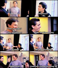 hahahahahha scott and bruce<3