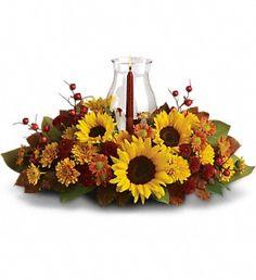 Sunflower Centerpiece in Pompano Beach FL, Grace Flowers, Inc.