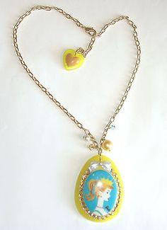 NEW TARINA TARANTINO Turquoise/Yellow CRYSTAL BARBIE NECKLACE - http://elegant.designerjewelrygalleria.com/tarina-tarantino/new-tarina-tarantino-turquoiseyellow-crystal-barbie-necklace/